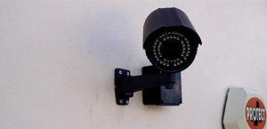 CCTV camera watching you