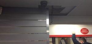Commercial indoor CCTV camera