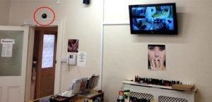 Business CCTV indoor camera