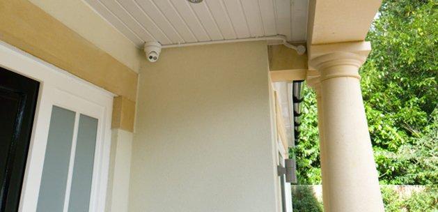 Home CCTV 4K in porch