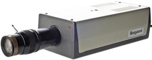 A vintage CCTV camera