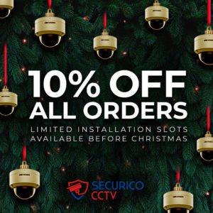 Black Friday CCTV Deal 10% Off All Orders